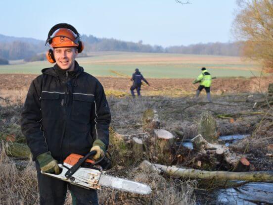 Rettet das Braunkehlchen – Bäume fällen für den Naturschutz