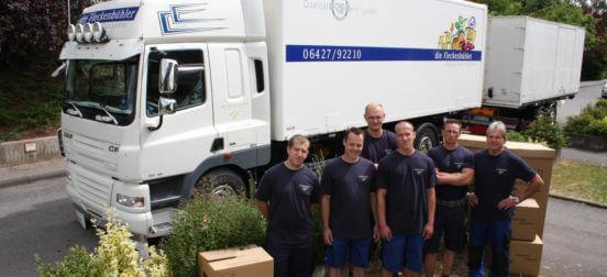 Umzüge und Transporte in zuverlässiger Qualität – in Marburg, Frankfurt und darüber hinaus!